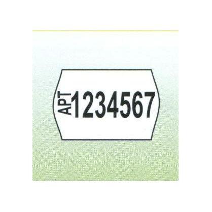 Этикет-лента 22x12 мм