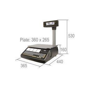 Весы с печатью этикеток Dibal W-025 купить в интернет-магазине СТЦ-Исток Харьков